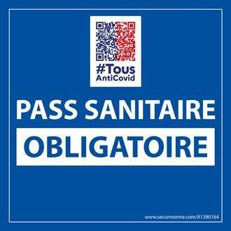 pass sanitaire<br />