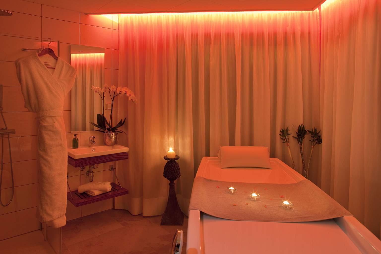 Cabine de soins Hôtel Le Parc à Saint Hippolyte - Hotel Piscine Spa en Alsace