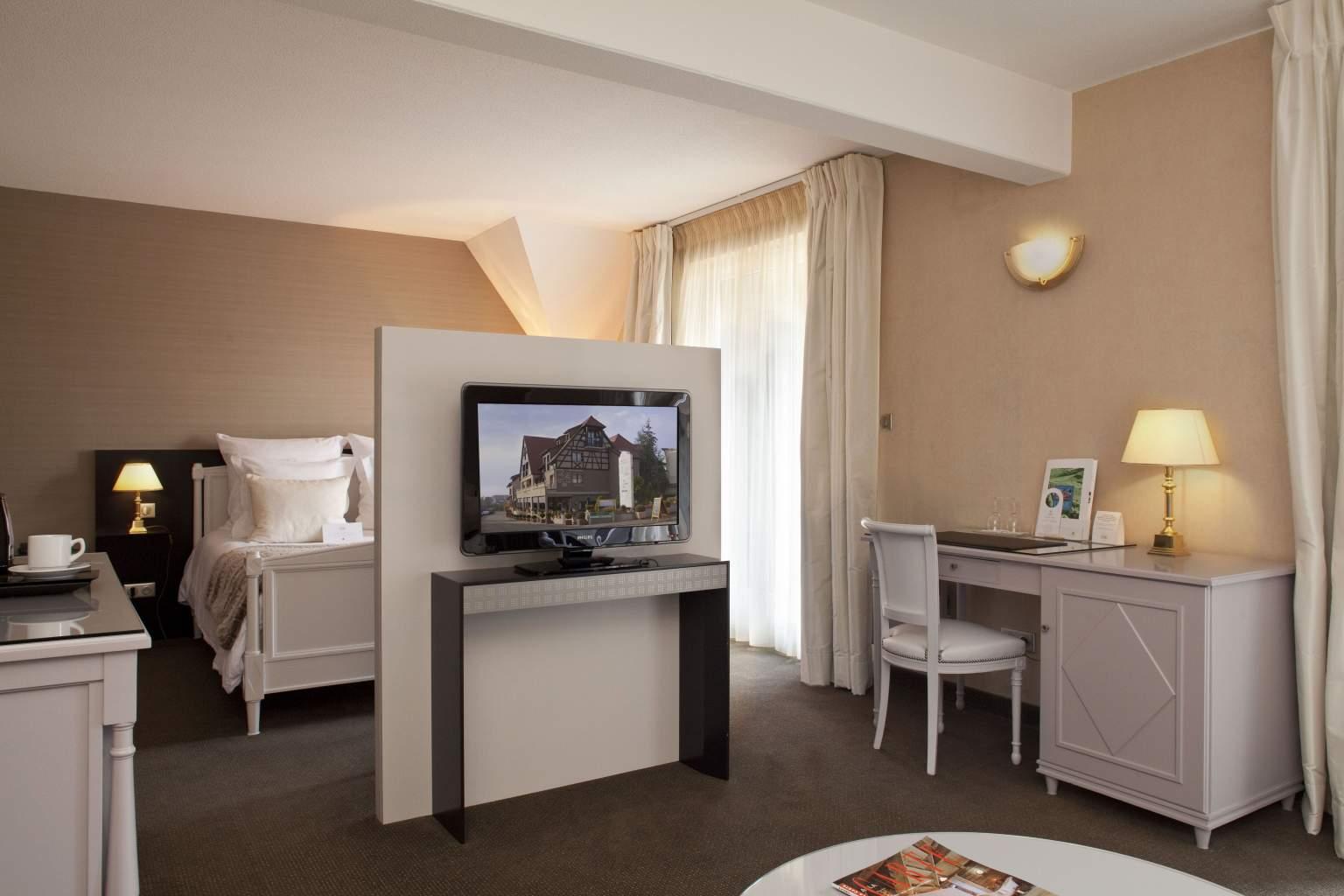 Chambre Hôtel Le Parc à Saint Hippolyte - Hôtel Luxe Alsace